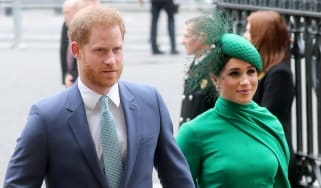 Prince Harry and Meghan Markle attend the Commonwealth Day Service in March.