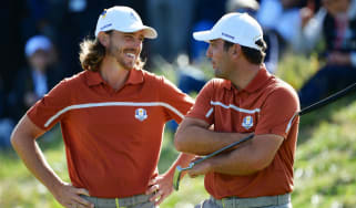 2018 Ryder Cup Europe Tommy Fleetwood Francesco Molinari