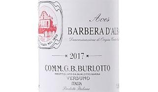 2017 Barbera d'Alba, Aves, GB Burlotto, Piemonte, Italy