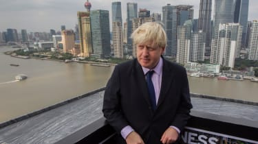 Boris Johnson in China