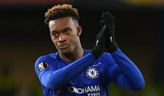 Chelsea forward Callum Hudson-Odoi