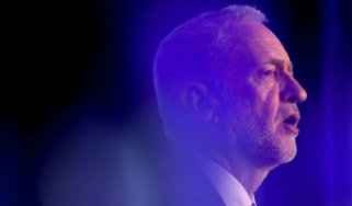 Jeremy Corbyn addresses the EEF manufacturers' organisation in London