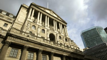 The headquarters of the Bank of England in London