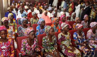 Chibok schoolgirls and President Muhammadu Buhari