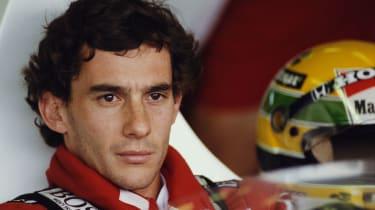 In his ten-year career Formula 1 legend Ayrton Senna drove for Toleman, Lotus, McLaren and Williams