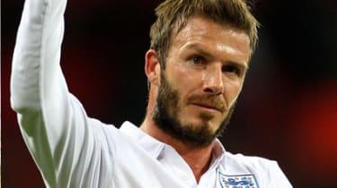 David Beckham; beard