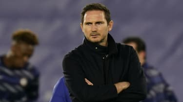 Chelsea head coach Frank Lampard