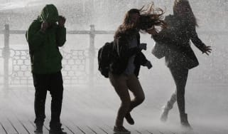 12 months of wind, rain and wild weather