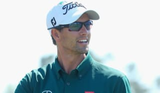 Adam Scott in the US Masters