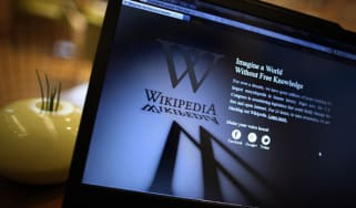 Wikipedia website
