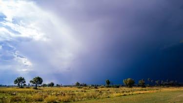 Okavango Delta sunshine and storm