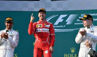 Lewis Hamilton, Sebastian Vettel, Valtteri Bottas, Formula 1