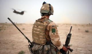 British army soldier