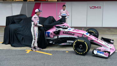 Force India VJM11 car launch 2018