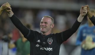 Wayne Rooney plays for Major League Soccer side DC United in the United States