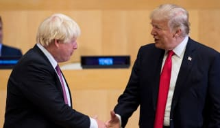 Boris Johnson Donald Trump