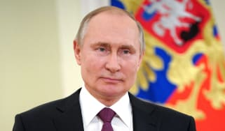 Vladimir Putin pictured in March