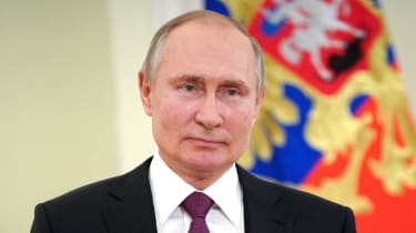 Vladimir Putin pictured in March