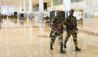 Indian airport security