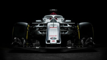 Alfa Romeo Sauber F1 car launch C37 2018