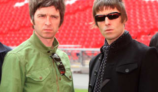 Noel and Liam Gallagher; Oasis