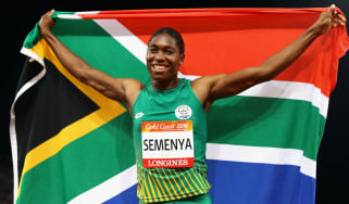 South African athlete Caster Semenya