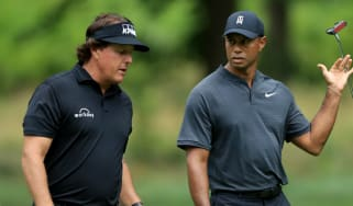 Tiger Woods vs. Phil Mickelson golf exhibition