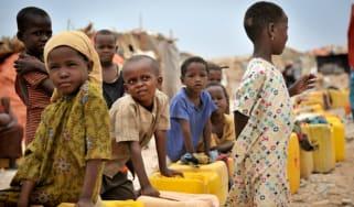 IDP camp Somalia