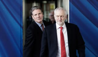 Keir Starmer and Jeremy Corybn