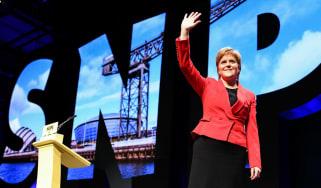 Nicola Sturgeon at SNP Conference in Glasgow