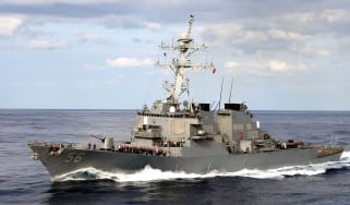 USS John S McCain has collided with an oil tanker of the coast of Singapore