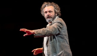 Michael Sheen on stage