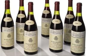 A dozen bottles of Echézeaux 1989 Henri Jayer, Georges Jayer
