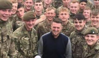Tommy Robinson, army