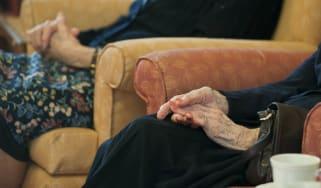 An elderly person