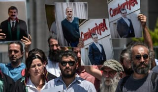 journalists and activists in Turkey