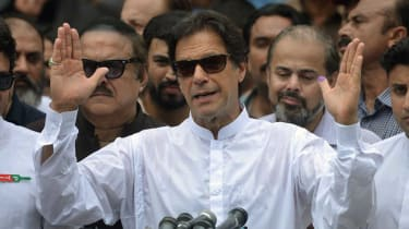 Imran Khan on track for election win despite allegations of ballot tampering