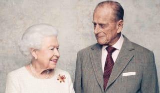 Queen and Prince Philip 70th anniversary portrait