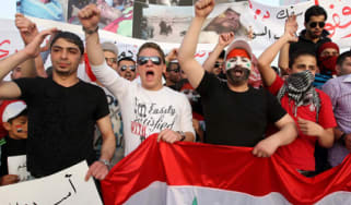 Syria protests in Jordan