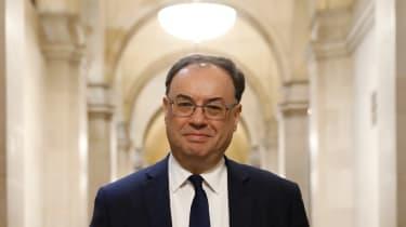 Bank of England Governor Andrew Bailey