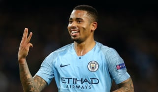 Manchester City striker Gabriel Jesus scored a hat-trick against Shakhtar Donetsk