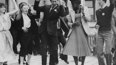Young Prince Charles dancing