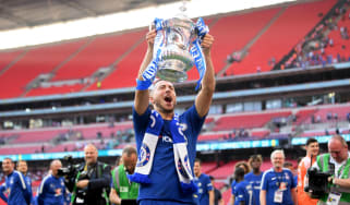 Eden Hazard scored Chelsea's winner against Manchester United in the 2018 FA Cup final