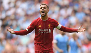 Jordan Henderson is captain of Liverpool