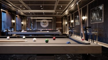 The Cue Club at The Towers of the Waldorf Astoria