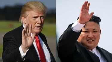 Donald Trump is scheduled to meet Kim Jong Un next month