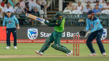 South Africa's Quinton de Kock hit 107 in the victory over England at Newlands