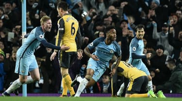 Man City 2 Arsenal 1
