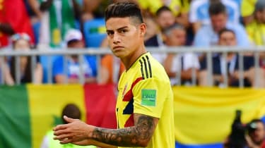 Colombia star James Rodriguez has spent two years on loan at Bayern Munich from Real Madrid