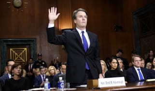 Brett Kavanaugh testifies before the Senate Judiciary Committee in 2018